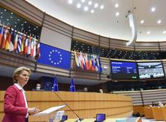 Participation of Ursula von der Leyen, President of the European Commission, to the extraordinary Plenary of the European Parliament about the Multiannual Financial Framework (MFF) and the Recovery Instrument