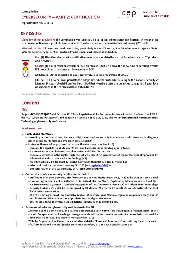 Cep Centrum Fr Europische Politik Details